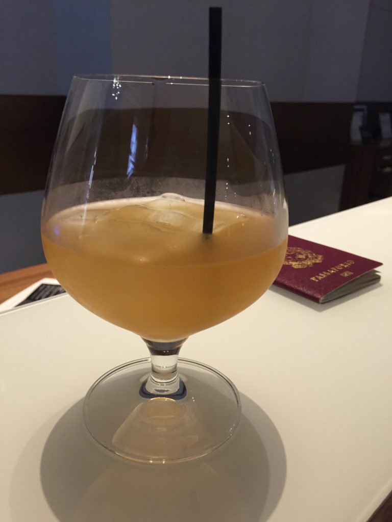 Awesome refreshing drink at check in