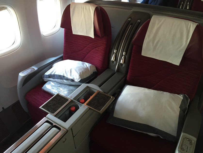 Qatar Seats 777 Business Class