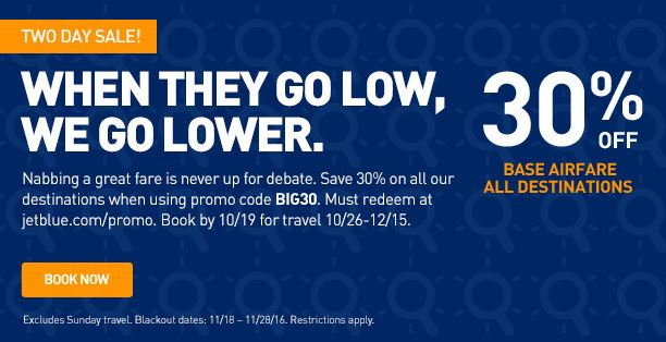 JetBlue They Go Lower