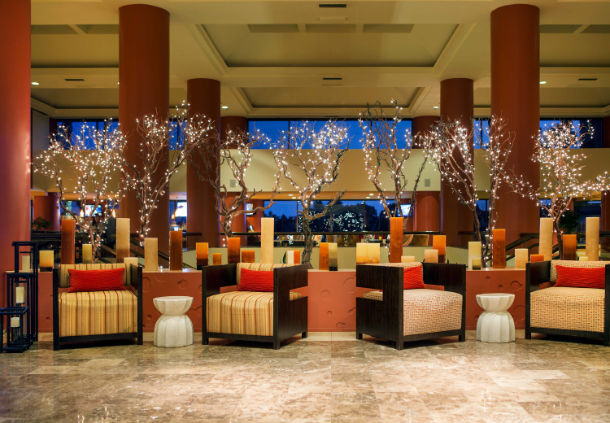 Lobby picture, from marriott.com