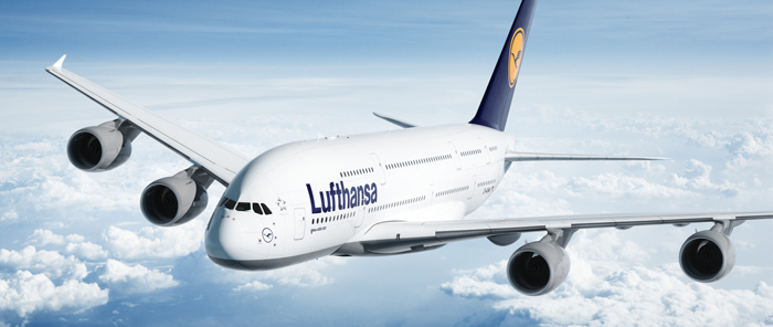 You won't see this plane flying today OR tomorrow (from lufthansa.com)