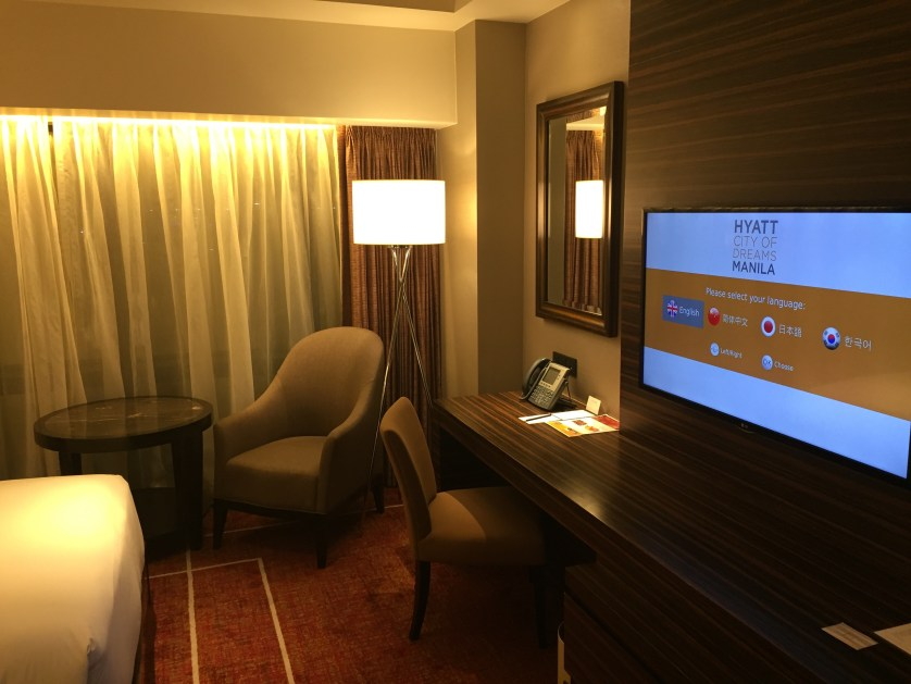 Hyatt City of Dreams Manila Room
