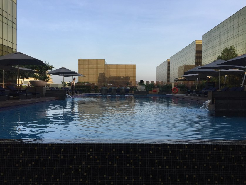 Hyatt City of Dreams Manila Pool