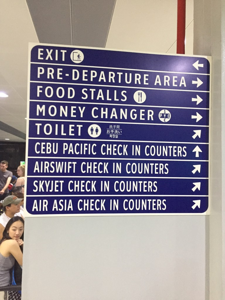 Manila Domestic Terminal Sign