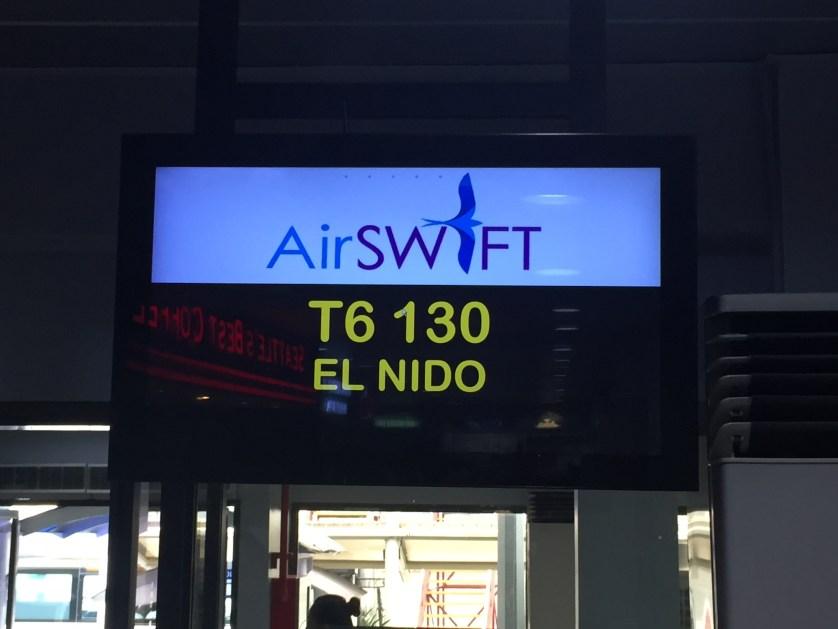 Air Swift Boarding