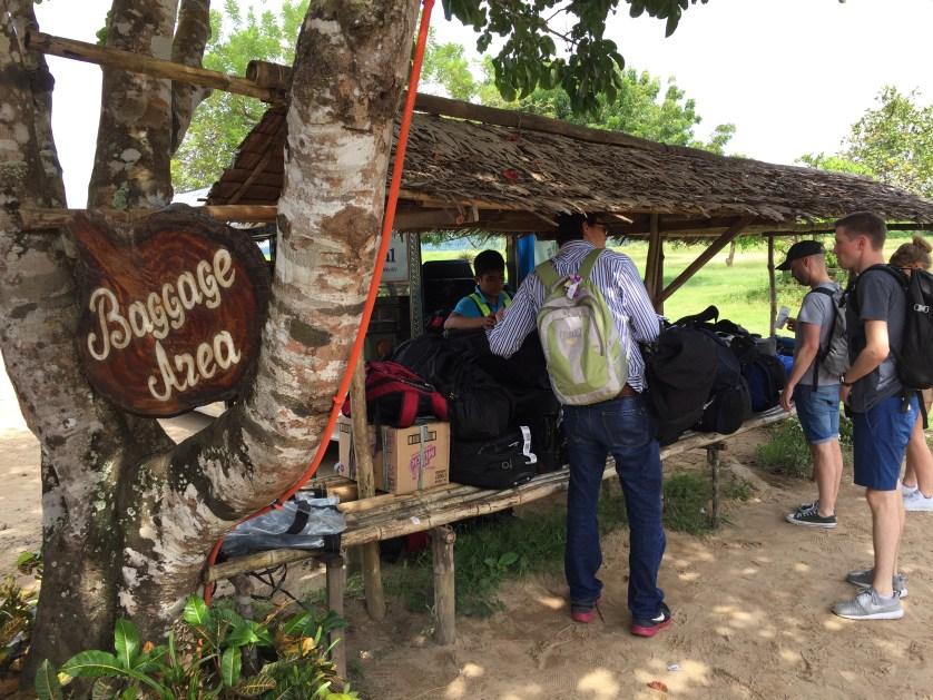 El Nido Baggage Area