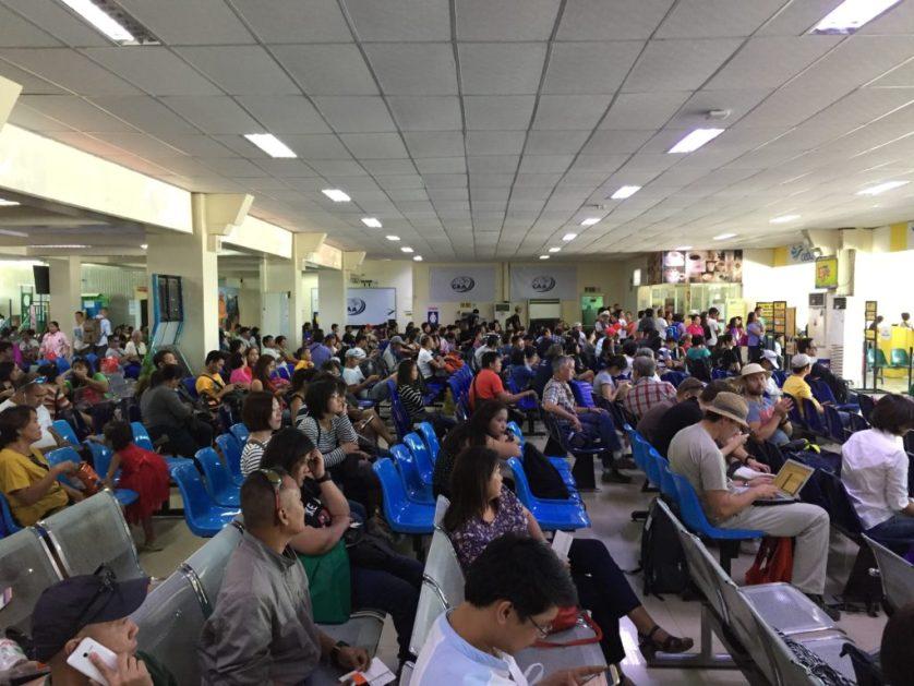 Puerto Princesa Airport Waiting Area