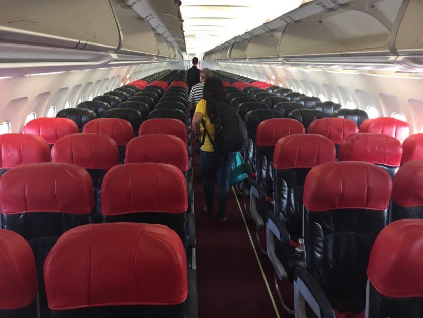 Air Asia Coach Seats