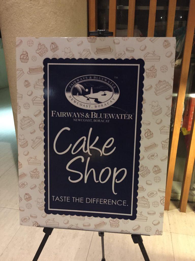 Fairways Cake Shop