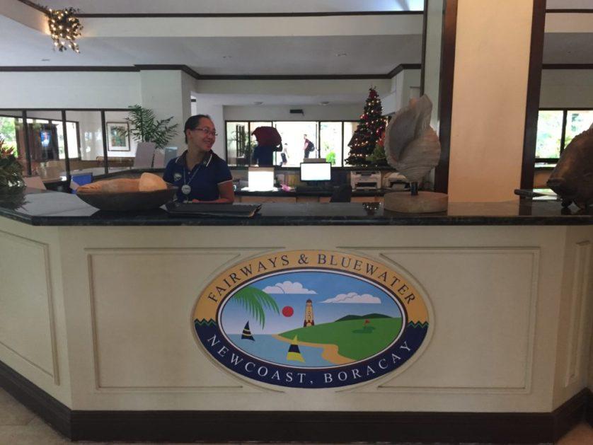 Private Checkin for Fairways Resort