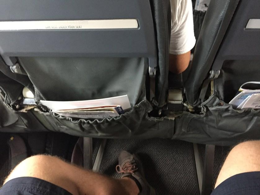 SkyJet Seats Falling Apart