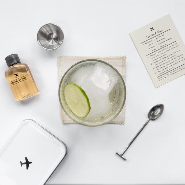 Gin and Tonic Carry On Kit, from WandPdesign.com
