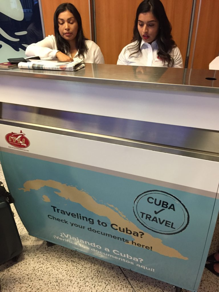 Cuba Travel Services Desk