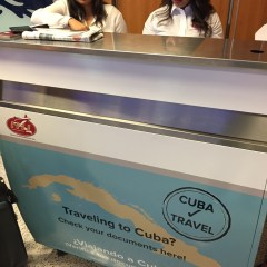 Alaska Airlines Cuba Check-in Mess