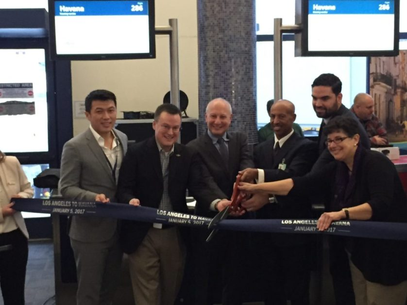 Alaska Airlines Havana Ribbon Cutting Ceremony