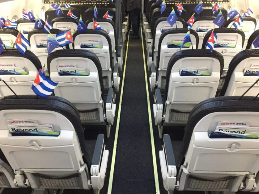 Alaska Havana Inaugural flight Decorations
