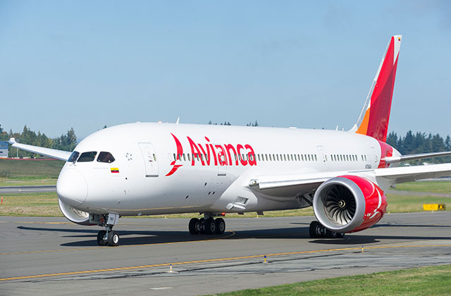 Avianca 787 Dreamliner