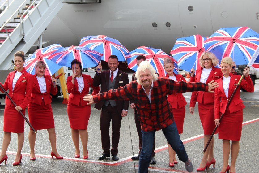 Richard Branson Virgin Seattle