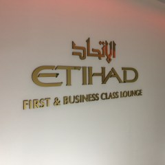 Etihad First and Business Class Lounge London Heathrow