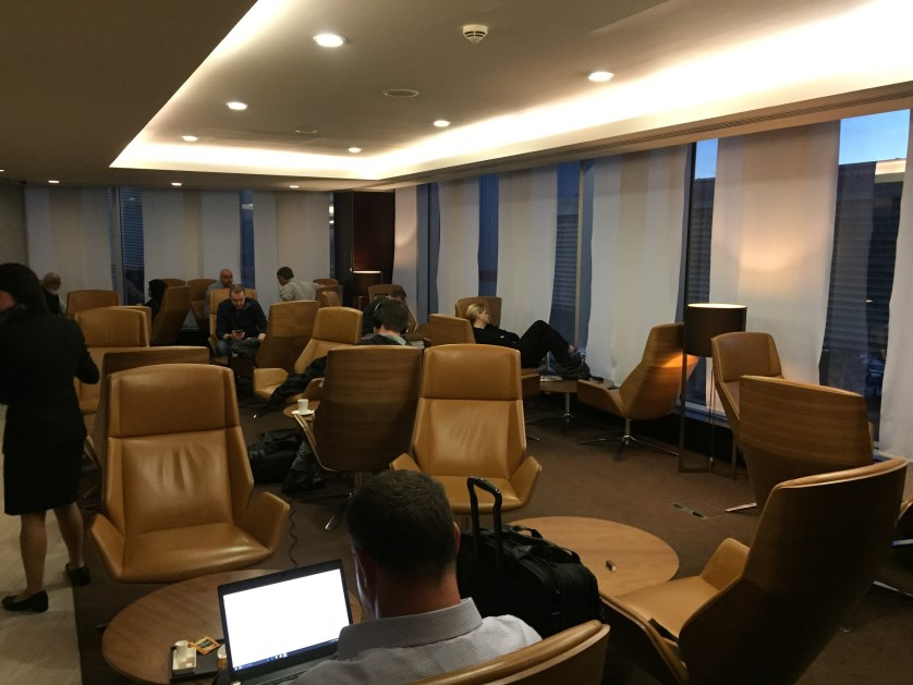 Etihad Lounge Seating Area