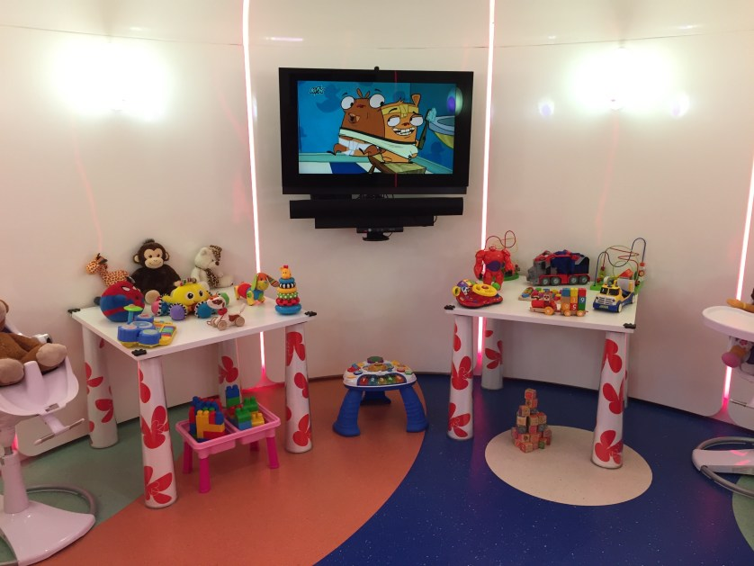 Etihad Children's area