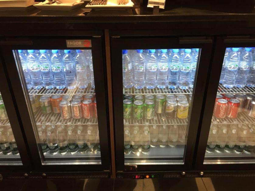 Etihad Arrivals Lounge Drinks
