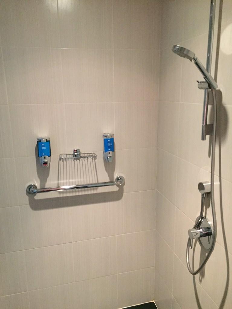 Aloft Abu Dhabi Bathroom