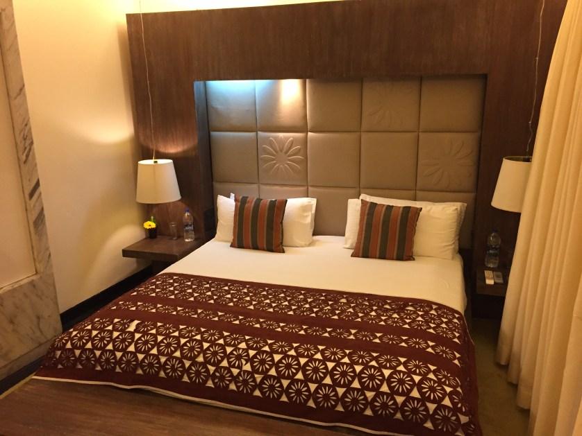 Park Hotel Delhi bedroom