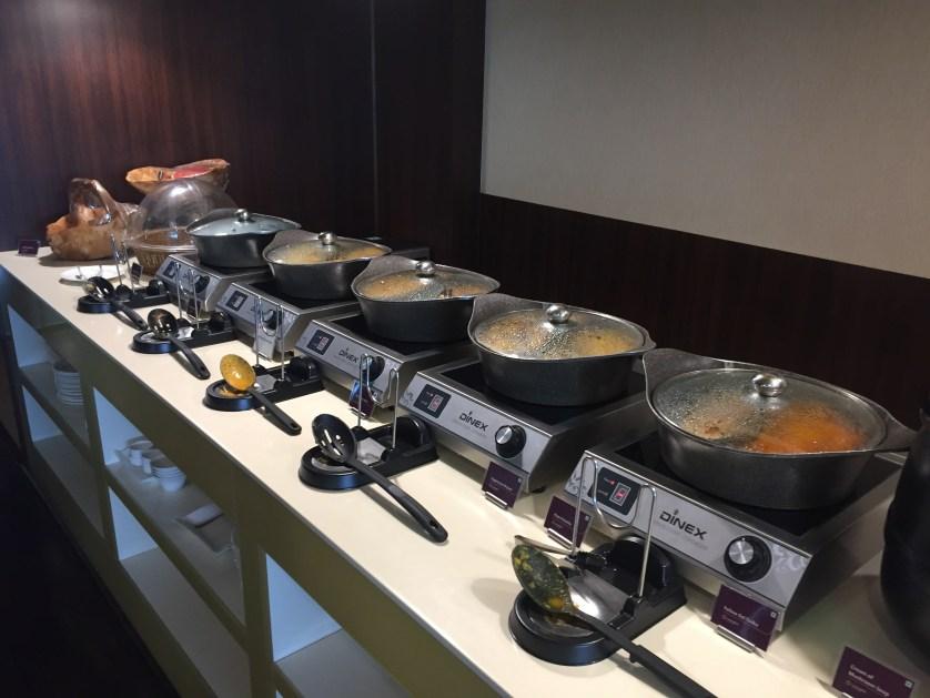 Vistara Lounge Food Delhi Airport