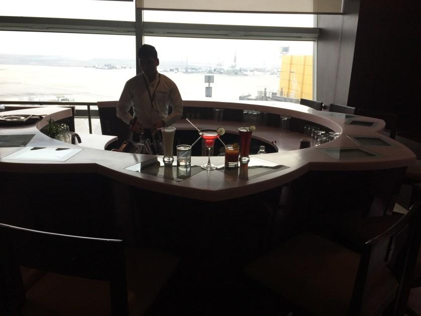 Vistara Lounge Bar Delhi Airport