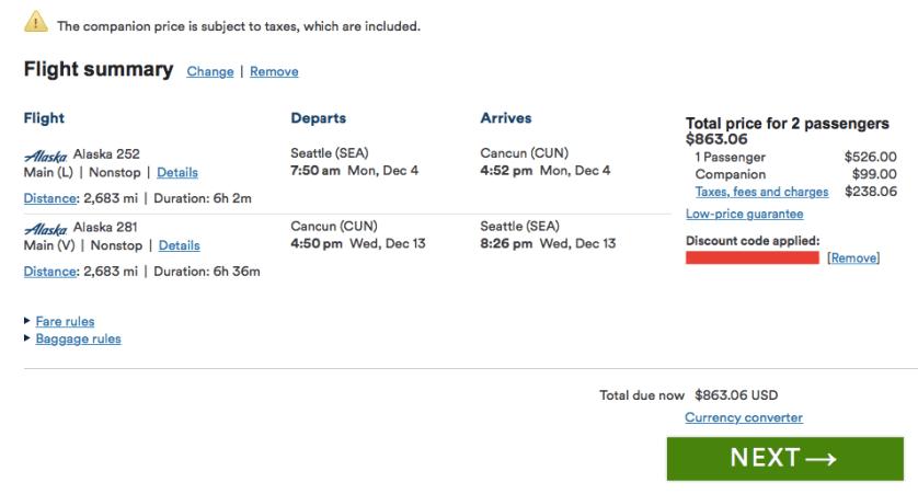 Travel Hacking The Alaska Airlines Companion Fare No