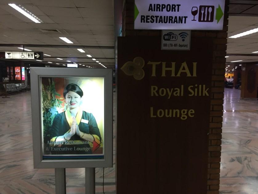 Thai Airways Lounge Kathmandu