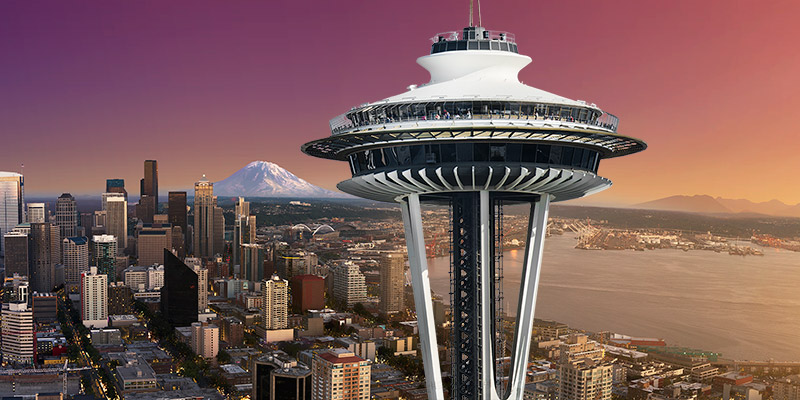 Space NeedleNO  Space Needle Restaurant is Closing    No Mas Coach . Dinner Seattle Space Needle. Home Design Ideas