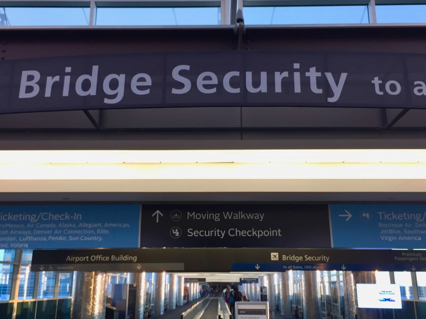 Denver Airport Bridge Security