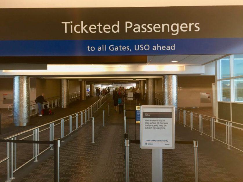 Denver Airport Bridge Security