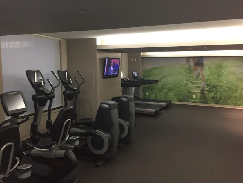 Westin Detroit Airport Fitness