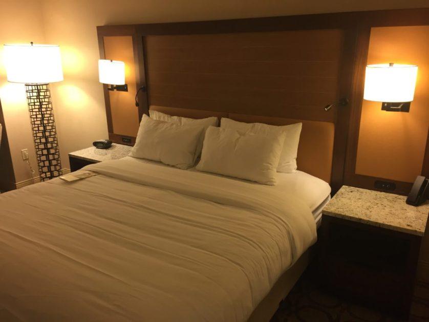 Marriott Westminster Bed