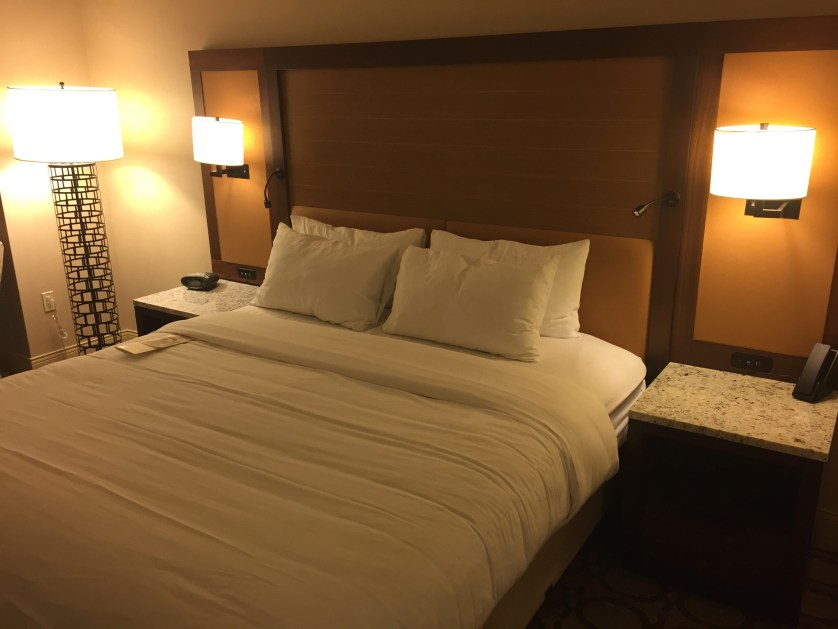 Marriott Westminster Bed