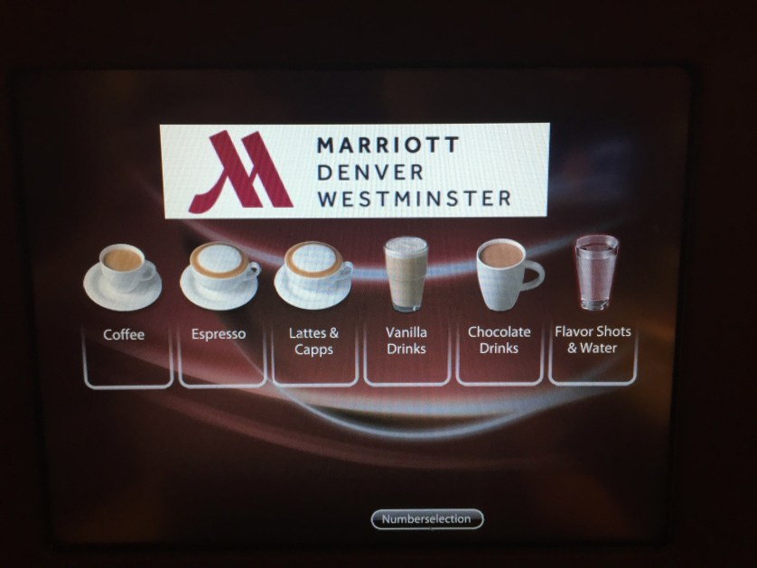 Marriott Westminster M Club Lounge