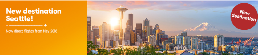 Thomas Cook New Seattle Route