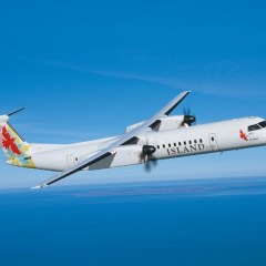 We're flying on Island Air's last day!