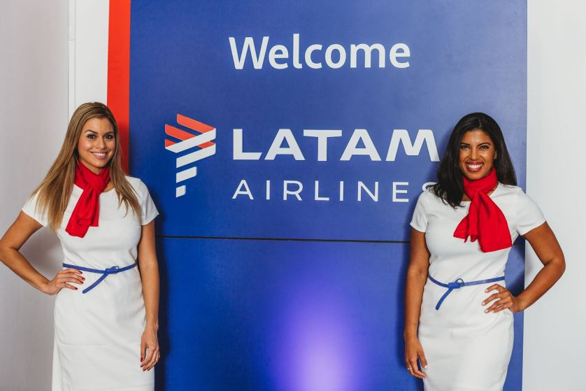 LATAM Airlines, from their facebook account