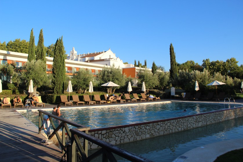 Outdoor Pool at Convento do Espinheiro