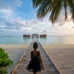 Conrad Maldives offers a Water Villa Discount using Points