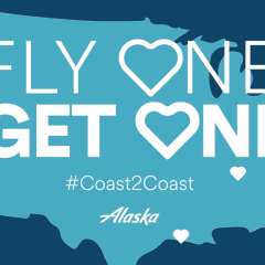 BOGO FREE Ticket Sale on Alaska Airlines TODAY!