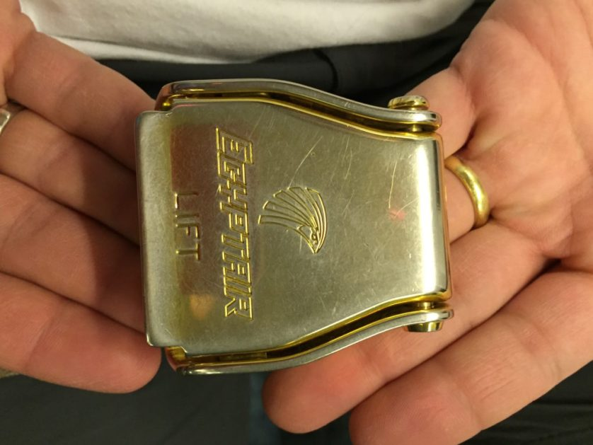 EgyptAir seat Belt Buckle