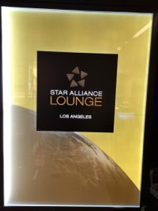 Star Alliance Lounge Los Angeles