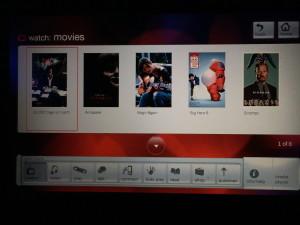 Virgin Red Entertainment Screen shot
