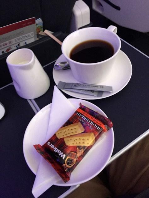 Peckish Shortbread and Coffee