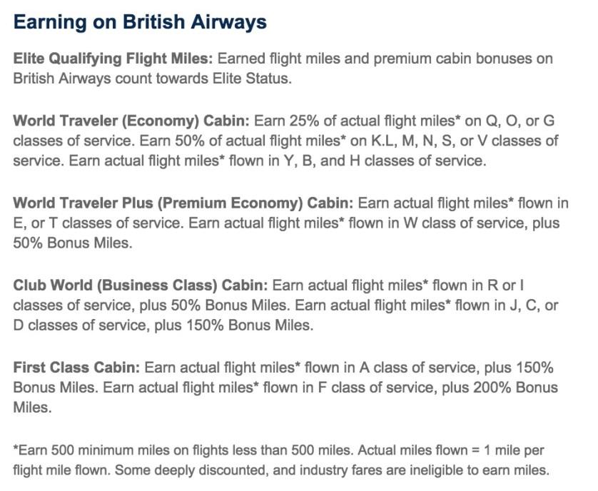 Earning on British